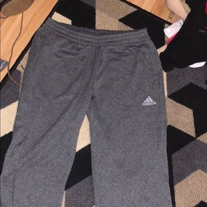 Adidas grey sweats